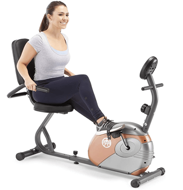 Marcy Recumbent Exercise Bike with Resistance ME-709 - heydayDo image copy