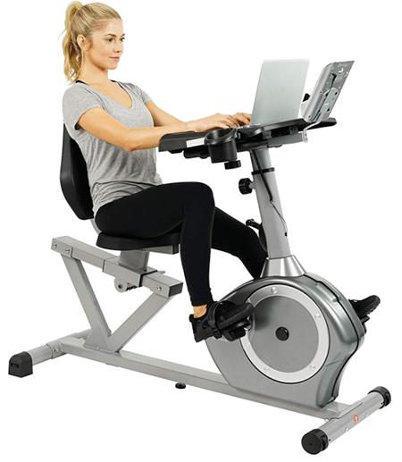Sunny Recumbent Desk Exercise Bike - heydayDo image copy