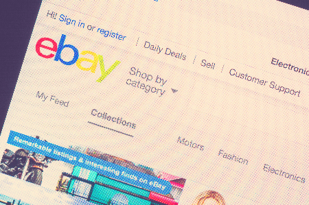eBay used fitness equipment category page