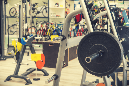 Used exercise equipment retail store