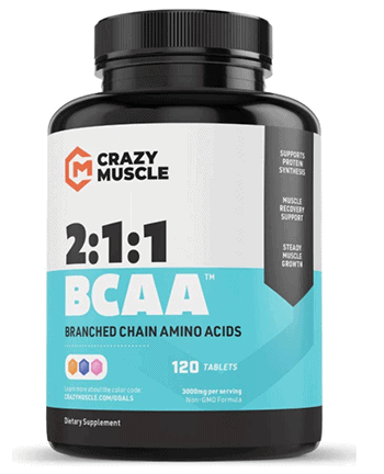 Crazy Muscle BCAA Tablets - heydayDo image copy
