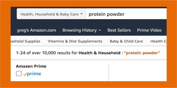 Amazon protein powder search - Protein Powders without Sucralose - heydayDo - in article image7