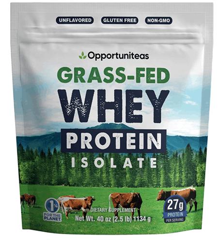 Opportuniteas Grass Fed Whey Protein Powder Isolate - heydayDo image copy