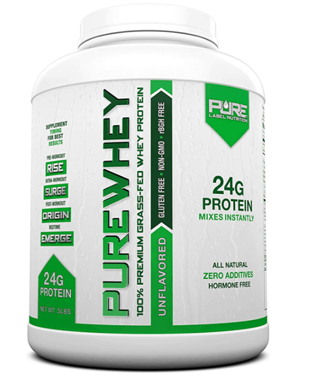 Pure Label Nutrition Whey Protein Concentrate - heydayDo image copy