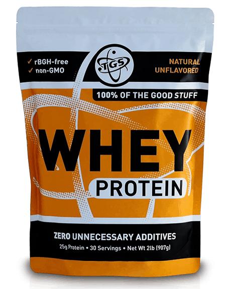 TGS All Natural 100% Whey Protein Powder - heydayDo image copy