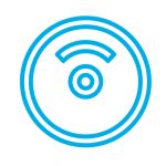 bumper plate icon blue - heydayDo icon