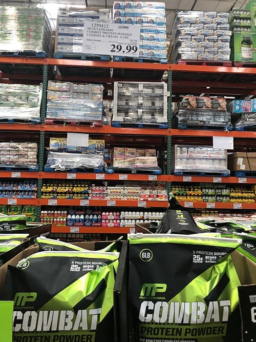 MusclePharm at Costco - Combat Protein Powder Review - heydayDo image