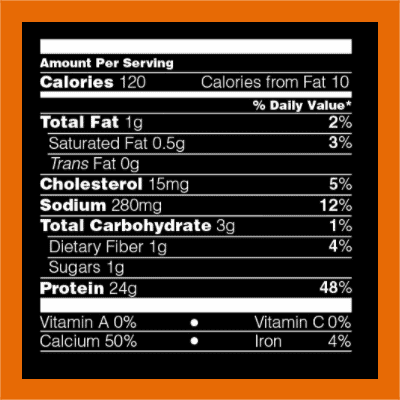 Optimum Nutrition casein nutrition facts - heydayDo image