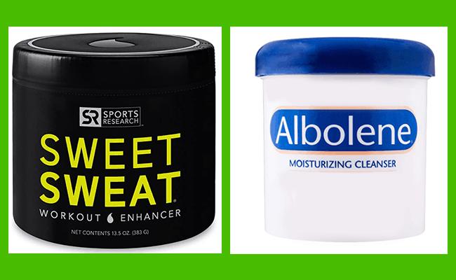 Sweet Sweat vs Albolene - heydayDo image