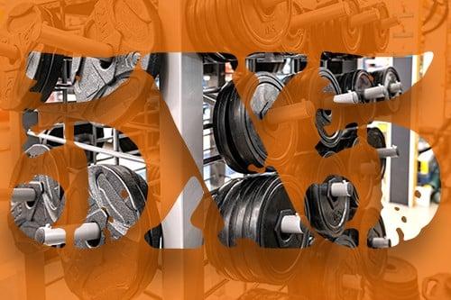 5x5 Workout design orange - heydayDo image
