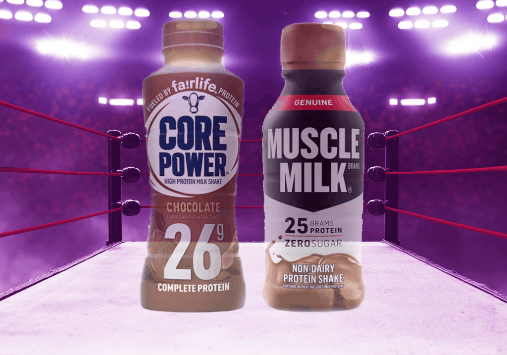 Core Power vs Muscle Milk - heydayDo featured image