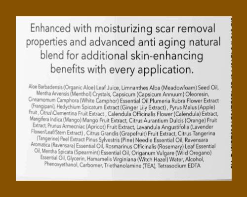 Honeydew Hot Cream Cellulite Treatment ingredients list- fat burning cream - heydayDO image