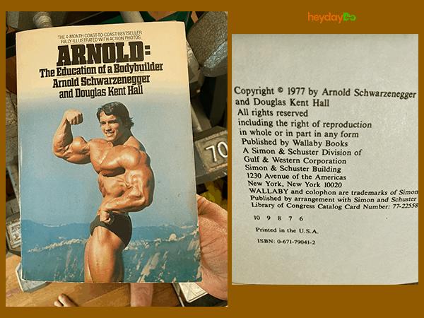My Education of a Bodybuilder book - 5x5 workout - heydayDo image