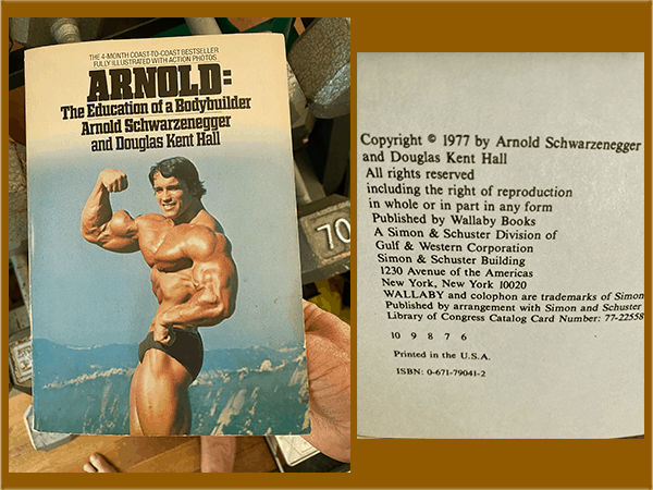 My Education of a Bodybuilder book - 5x5 workout - heydayDo image