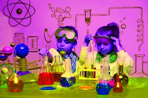 Two Kids Being Scientists - heydayDo image