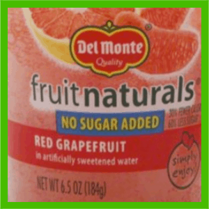 Fruit naturals front label - heydayDo image