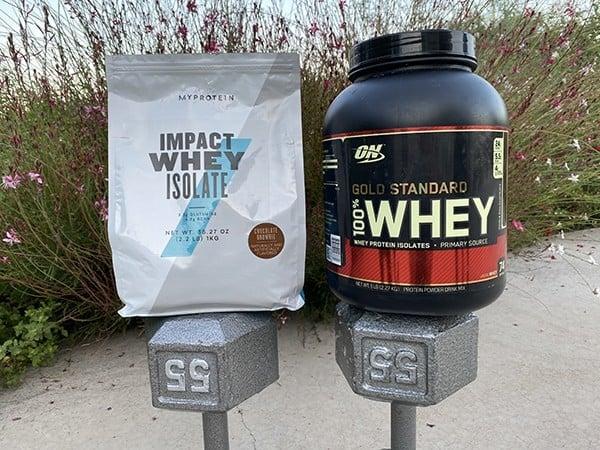 MyProtein Impact Whey vs Optimum Nutrition Gold Standard - heydayDo image