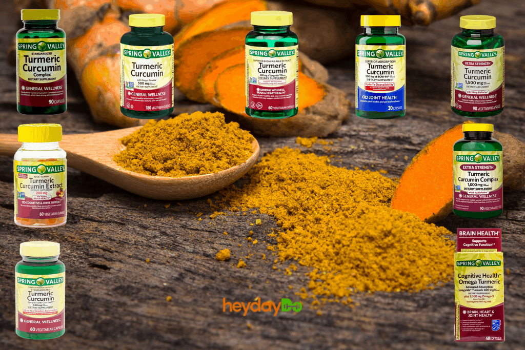 Spring Valley Turmeric Curcumin Review - heydayDo featured image
