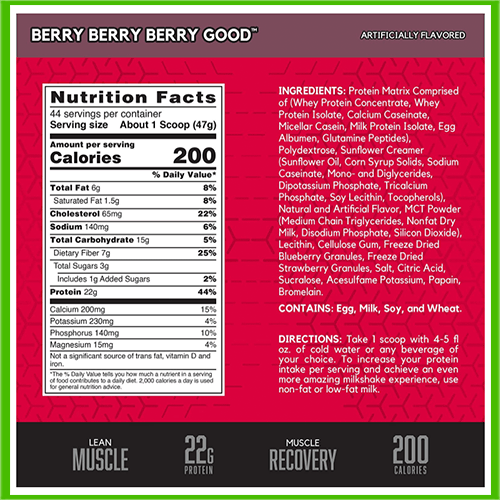 Syntha 6 Cold Stone Nutrition Facts - heydayDo image