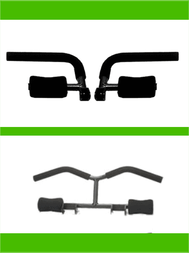 Total Gym Fit and XLS comparison of handle attachments - heydayDo image